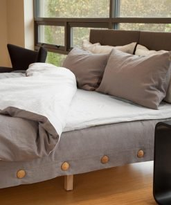comfy bed from Horizontal Sleep. 99.8% biodegradable bed, Ferra color