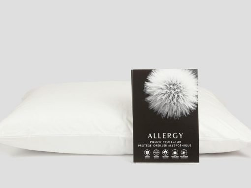 Specially woven and constructed to prevent dust mites and bed bugs from entering your pillow. Zipper closing with dust flap. Chemical free, 100% cotton.